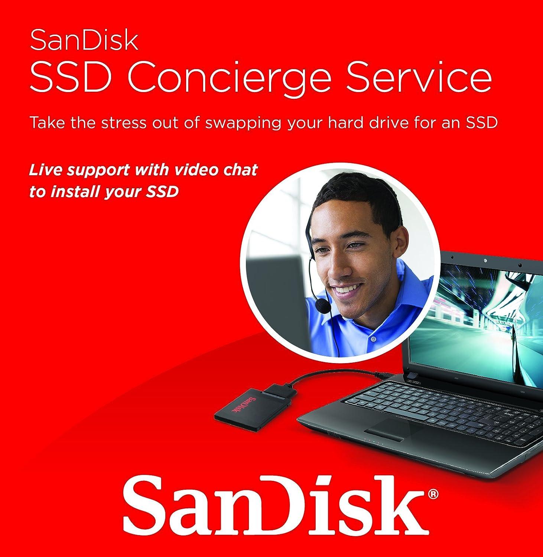 SanDisk SSD Concierge Service 2.5 SDSSD-SWAP-G25 Unidad de Disco ...