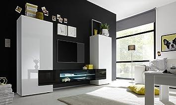 Mobile-TV Behälter Modern weiß glänzend Effekt Beton Holz Antik ...