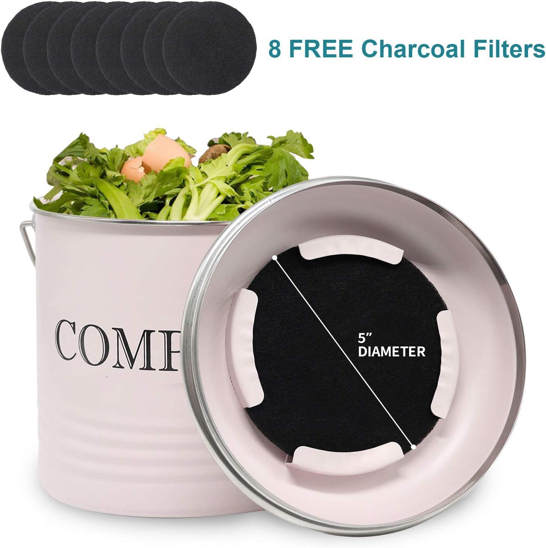 Amazon.com: Contenedor de compost Reliancer con 8 filtros de ...
