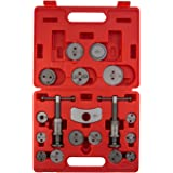 Sunex Tools 3930 Master Disc Brake Caliper Tool Set And Wind Back Kit, Compressor, Spreader Tool Set For Brake Pad Replacemen