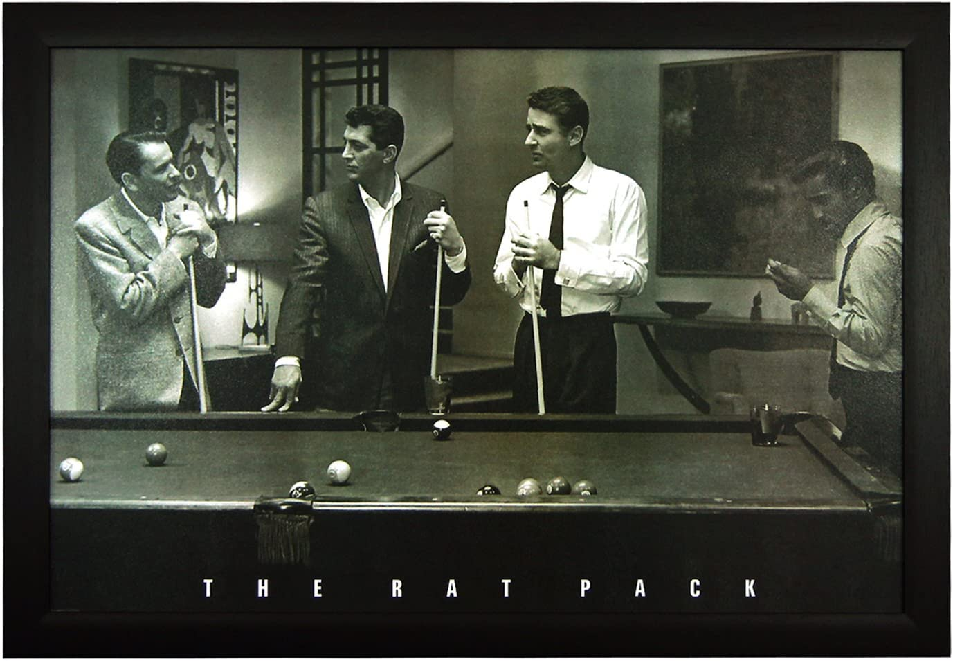 El Rat Pack, mesa de billar 24