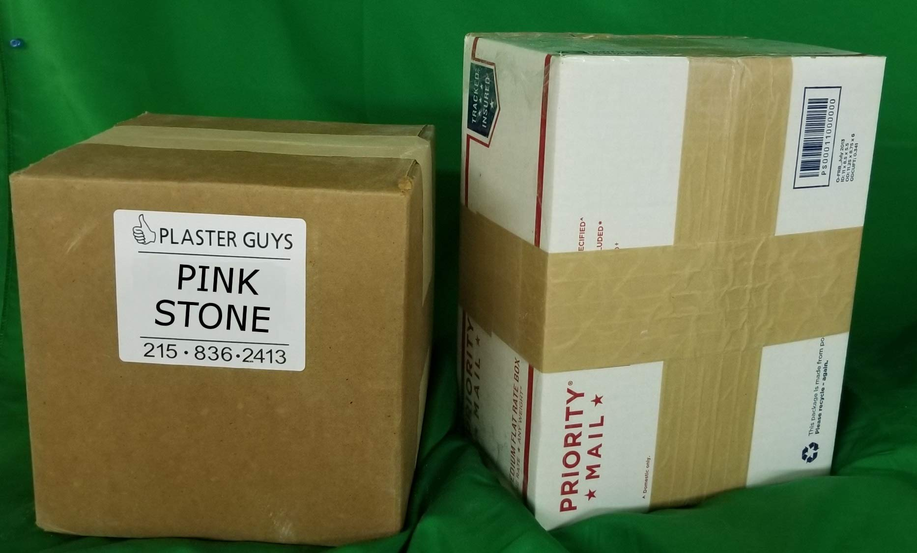 50 pounds - Pink Dental Lab Stone - Type III Gypsum with Free Fast Shipping! Made in The USA.