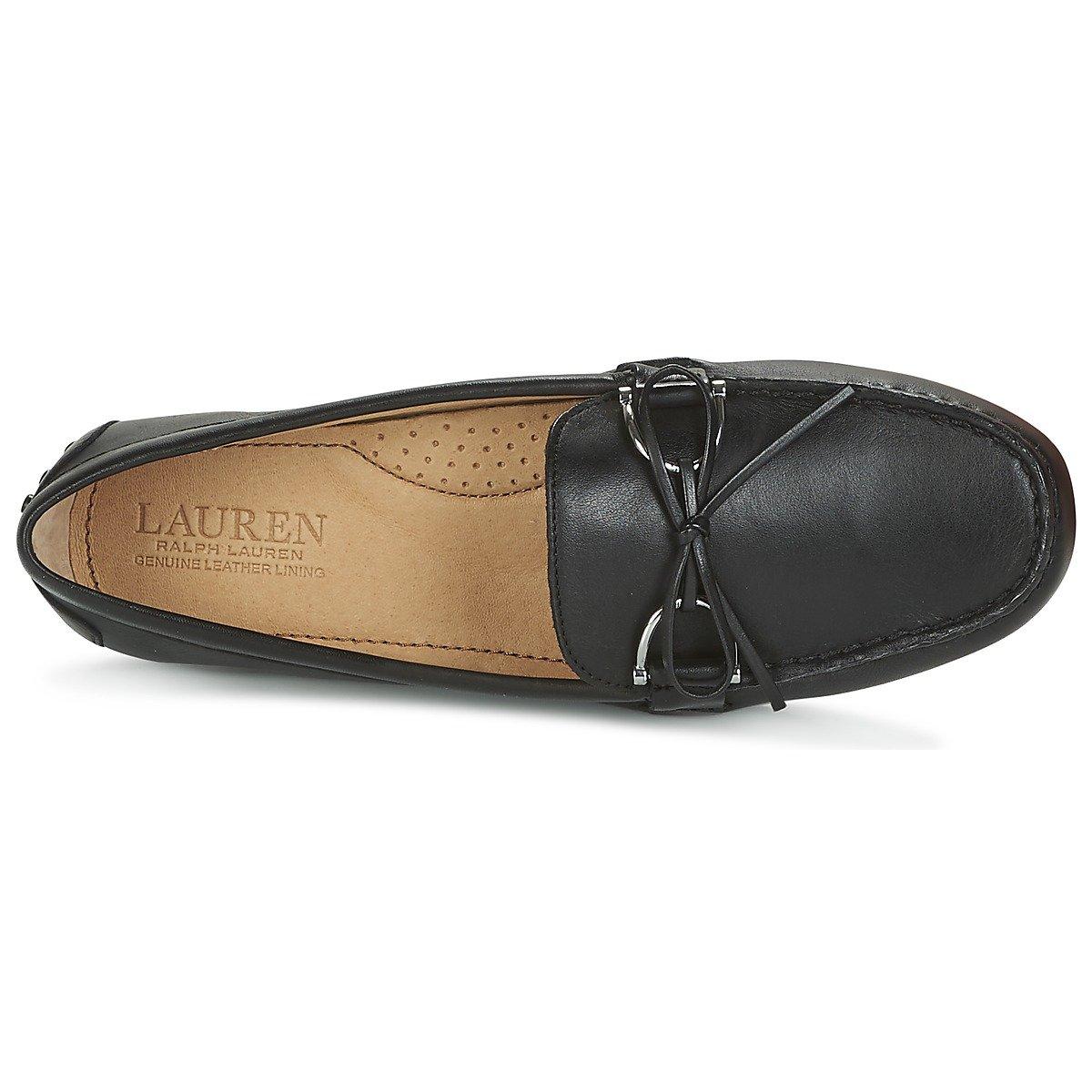 Ralph Lauren MACASIN 802-664541-001 Briley Negro: Amazon.es: Zapatos y complementos