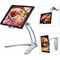 Tablet Stand for iPad,Tendak 2-in-1 Tablet Mount Stand/Kitchen Tablet Wall Mount Holder for 5-12.9 Inch Tablets/iPad Pro…