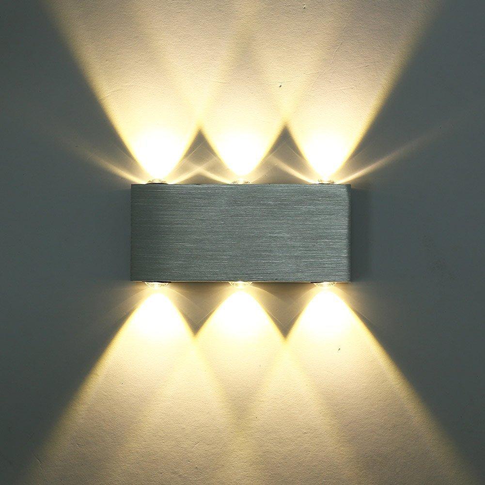 CMYK 6w moderna applique da parete led SMD 5050 lampada da parete ...