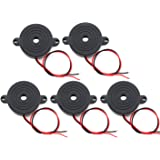 Amazon.com : 6 Pack 3-24v Piezo Electric Tone Buzzer Alarm ...