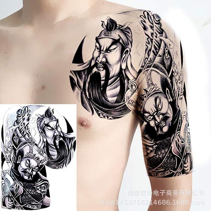 Handaxian Nueva Mitad de Las Pegatinas de Tatuaje en la Espalda ...