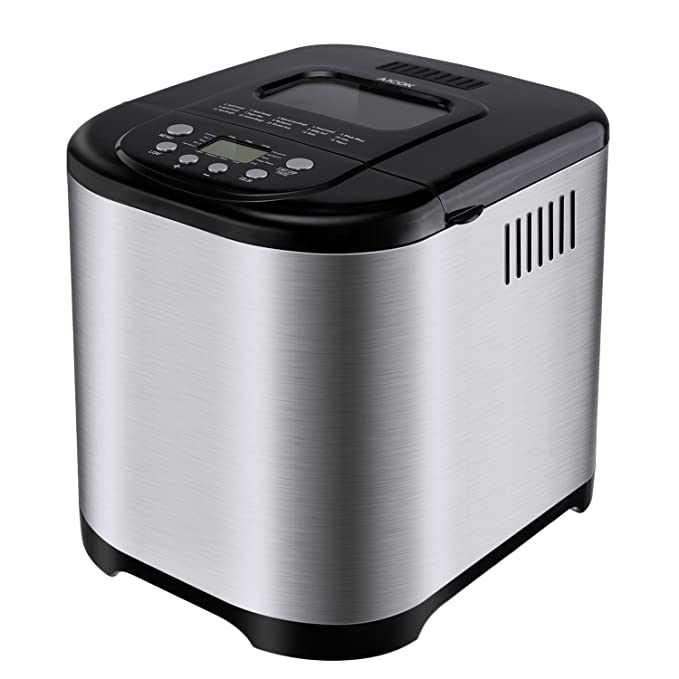 Review Programmable Bread Maker[2018 Upgraded],