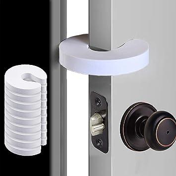 4 Pack Reusable Foam Door Stopper Guards to Prevent Finger Pinch Injuries Door Finger Guards Slamming Door Child or Pet from Getting Locked