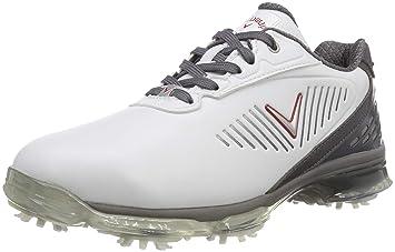 d313d46d5089 Callaway Golf 2018 Mens X Series XFER Nitro Spiked Golf Shoes White ...