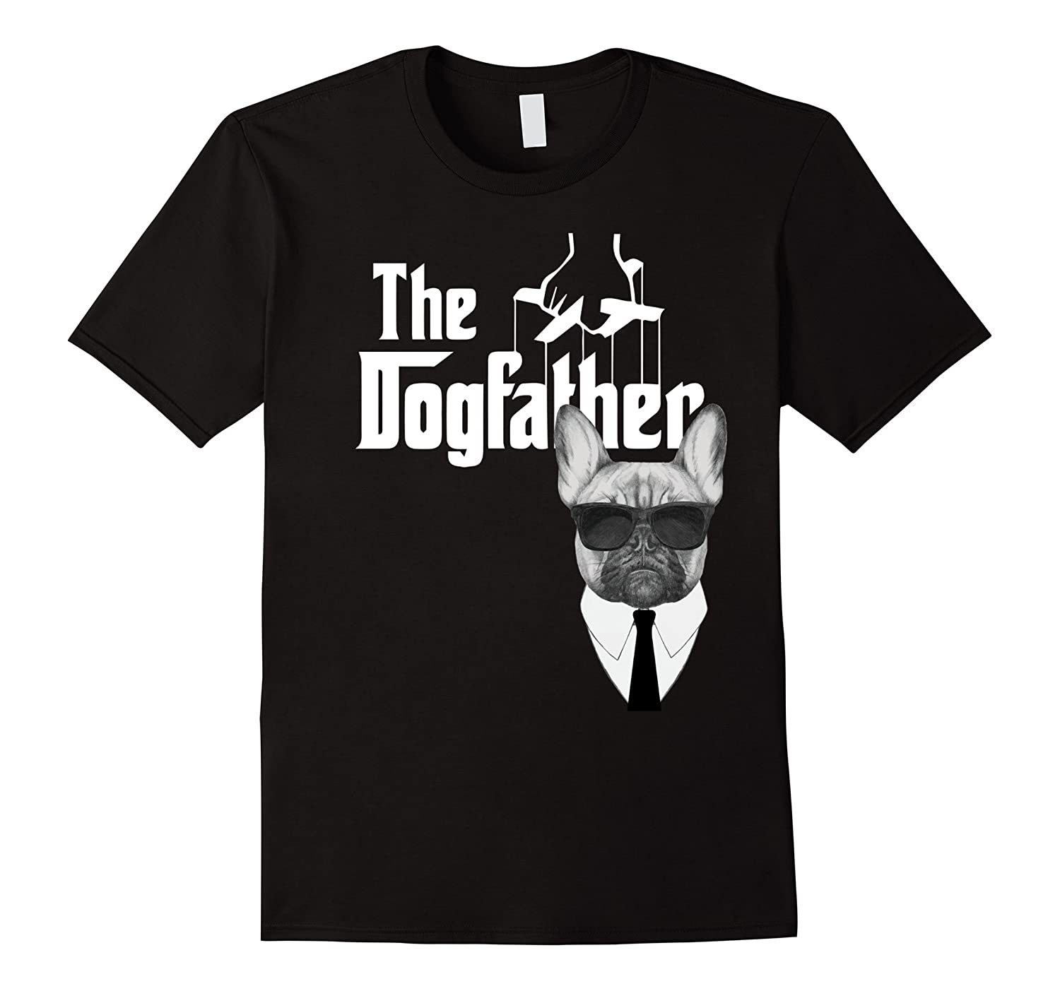 Dogfather French Bulldog Funny Gangster-Tovacu