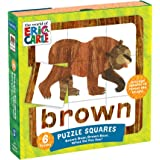 Mudpuppy The World of Eric Carle Brown Bear, What Do You See? Squares Puzzle (27 Piece)