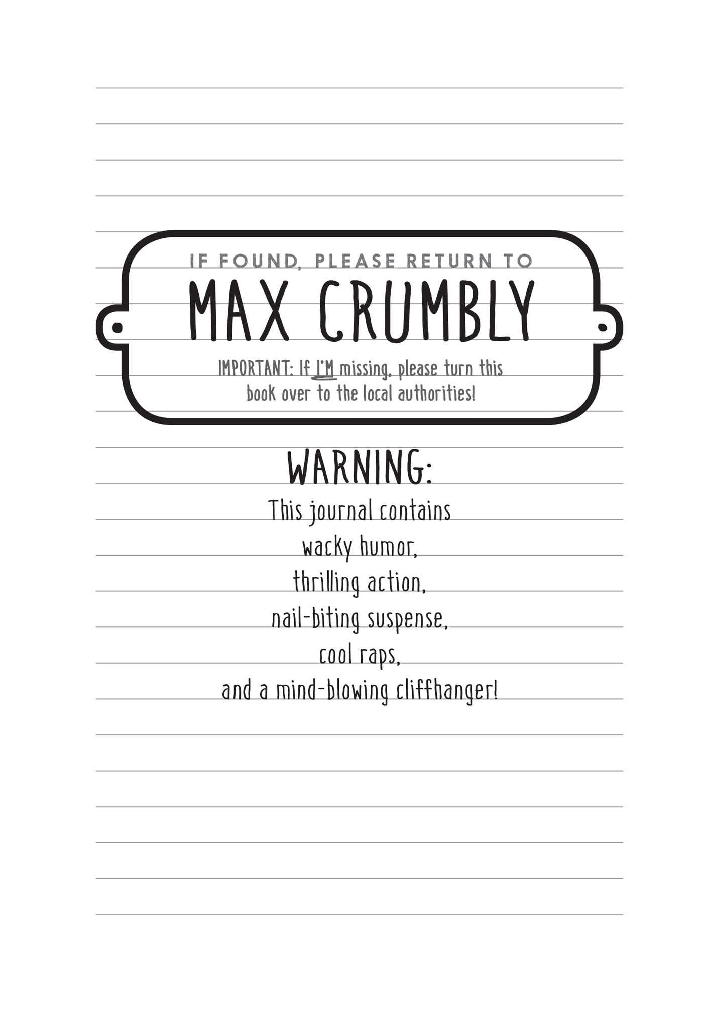 The Misadventures Of Max Crumbly 1 Locker Hero Rachel Renée