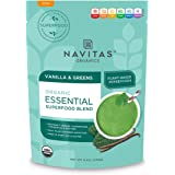 Navitas Organics Superfood Smoothie Blend, Vanilla & Greens, 8.4oz. Pouch