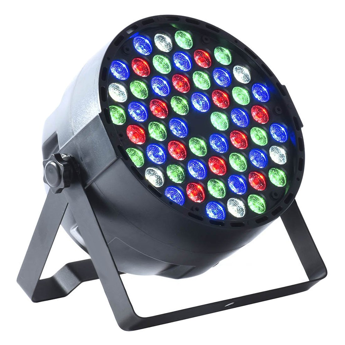 LED Stage Light - TOOGOO(R) 8 x DMX512 54X3W RGBW LED Stage Light