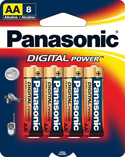 Panasonic Digital Power AA Alkaline Batteries