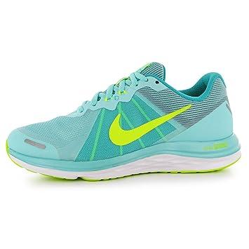 Nike Dual Fusion X2 Running Shoes Damen türkisVolt Run