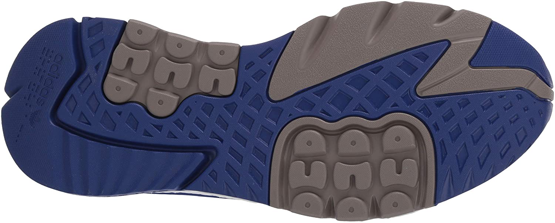 adidas Originals Herren Nite Jogger Pumps, Cloud White/Core Black/Signal Green St Desert Sand St Desert Sand Simple Brown