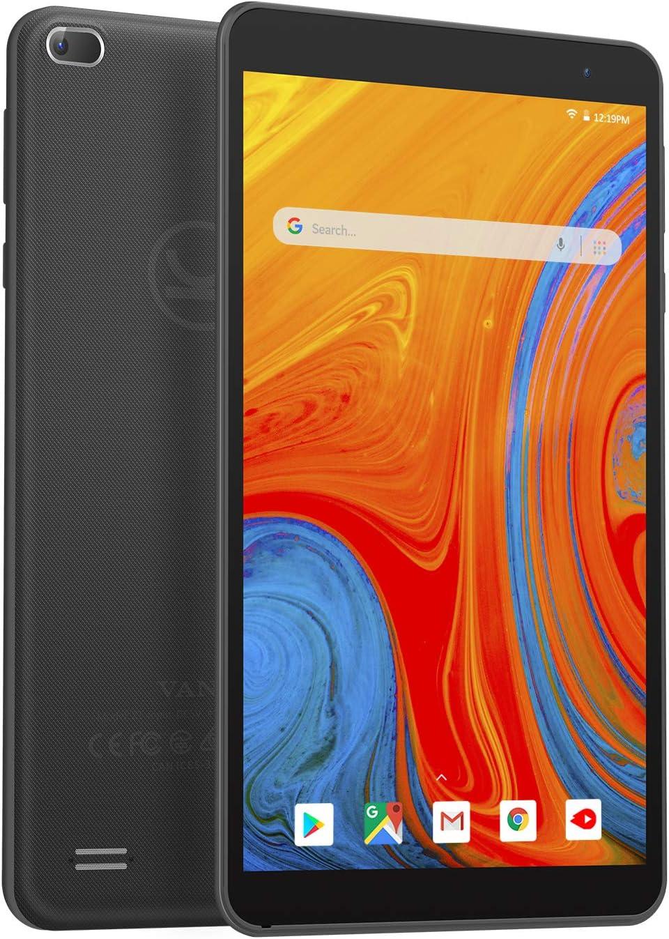 VANKYO MatrixPad Z1 Upgrade 7 inch Tablet, Android 10, 32GB Storage, Quad-Core Processor, IPS HD Display, Wi-Fi, Bluetooth, Black