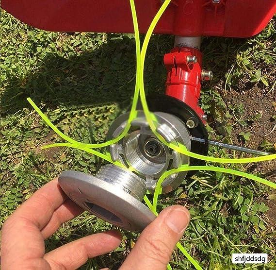 Shfjdsdg - Cabezal desbrozadora de Aluminio con Doble ...
