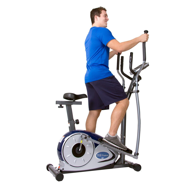Body Champ 2 In 1 Cardio Dual Trainer/Elliptical