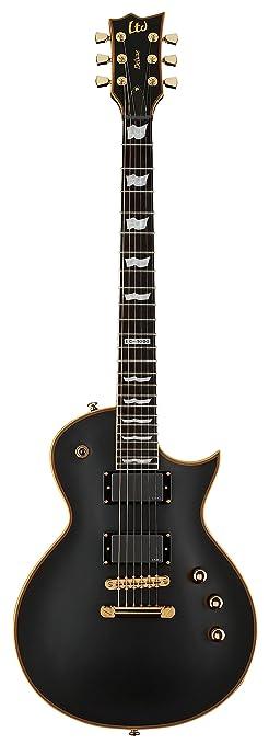 ESP LTD EC-1000 Deluxe Electric Guitar, EMG Pickups, Vintage Black ...