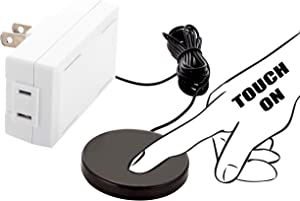 Dimmer control switch, touch pad 3 levels of dimming, for table, floor, chandelier, desk, any style plug in lamp up to 150 watt.
