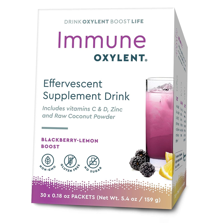 Amazon com: Immune, BlackBerry-Lemon Boost 30 Packets - Pack of 2