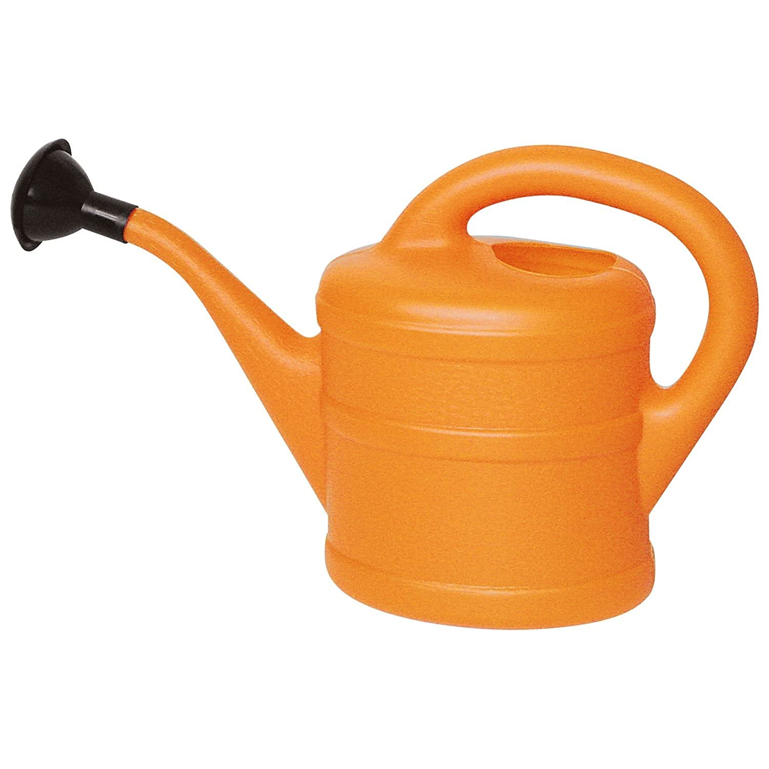 Small 1L Children's Grey Plastic Garden Watering Can with Rose Gardens2you