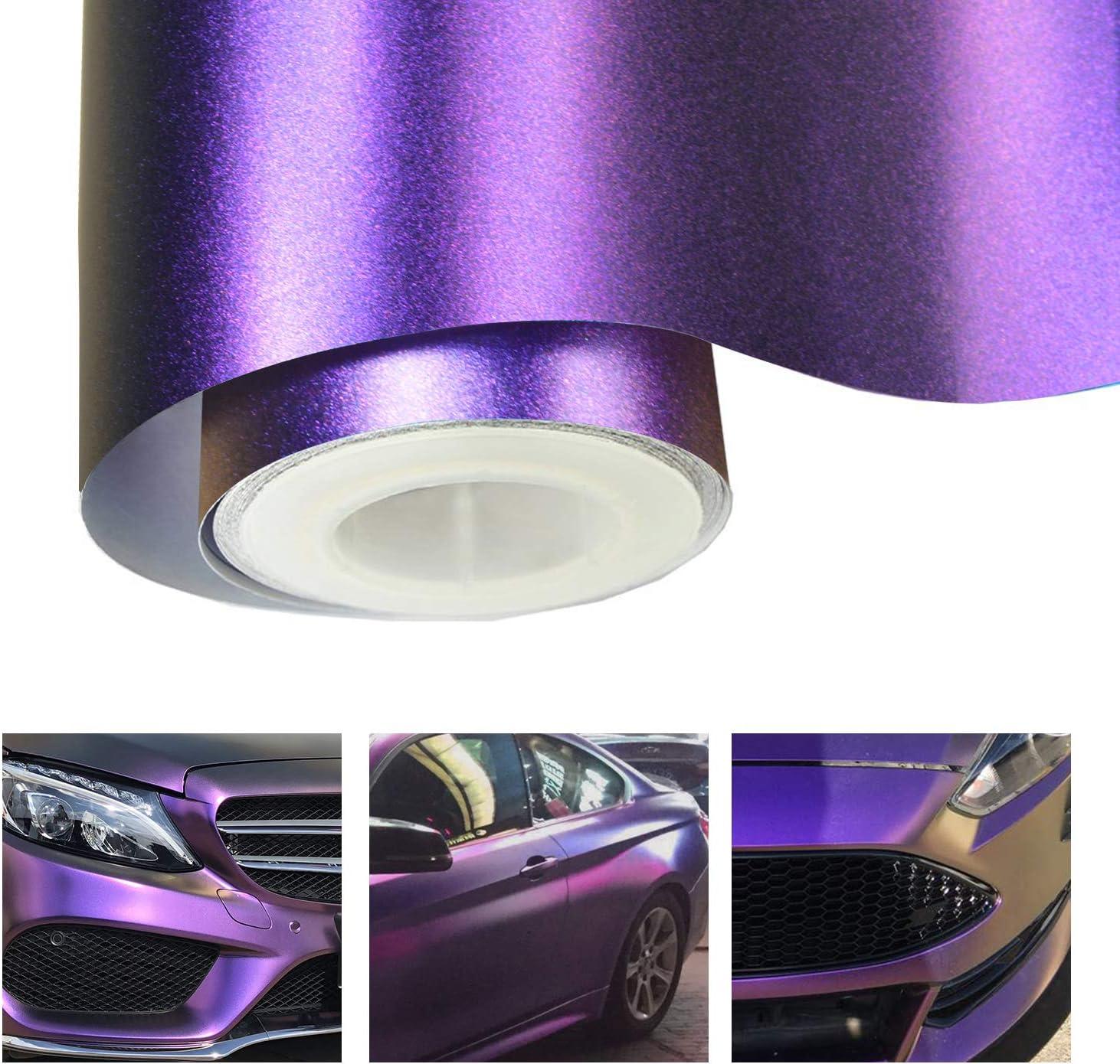 Matte Metallic Purple Vinyl Car Wrap Decal Roll You Choose Size Vvivid