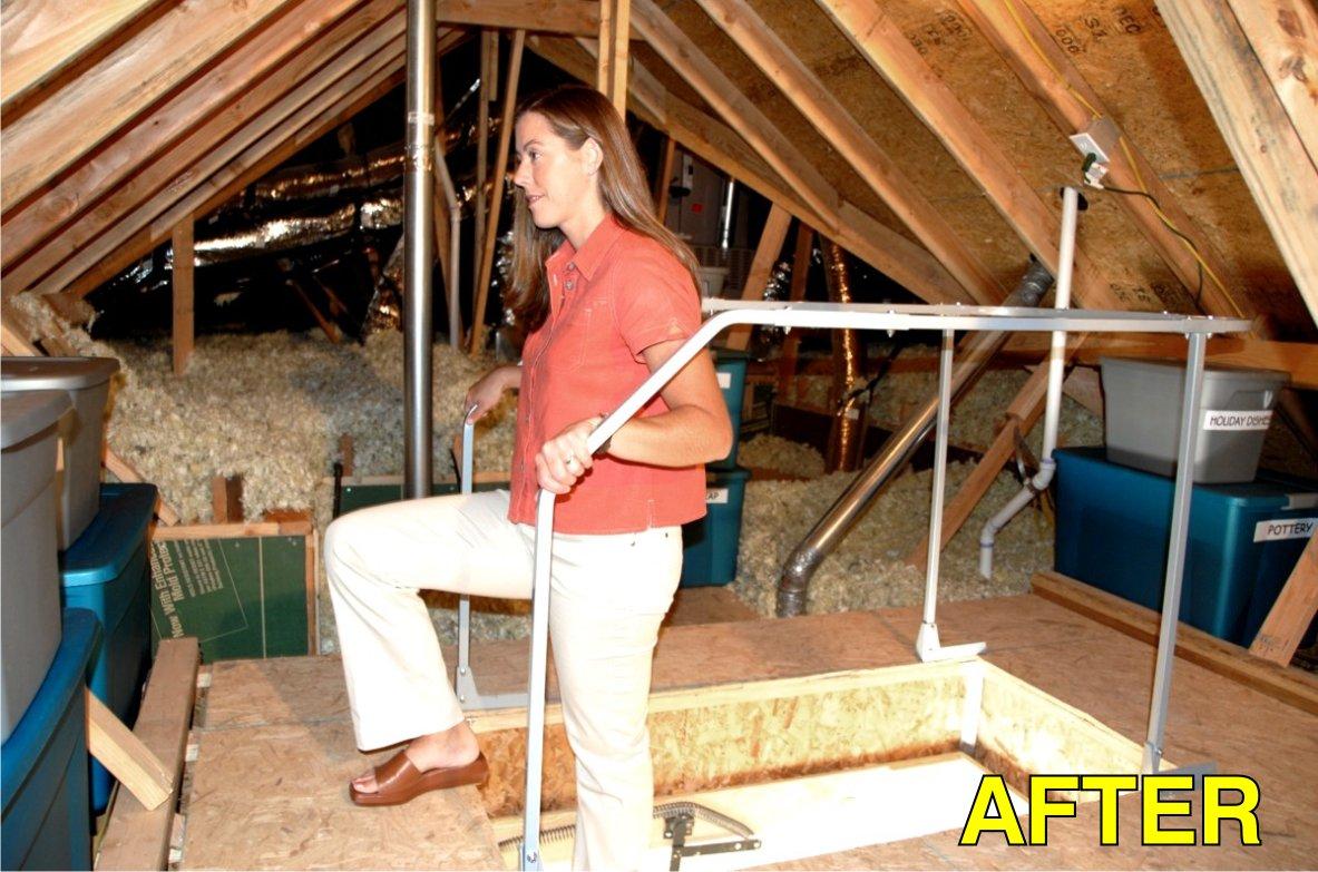 Versa Lift Attic Ladder Safety Railing, Model# VR-60 by Versa-Lift (Image #1)