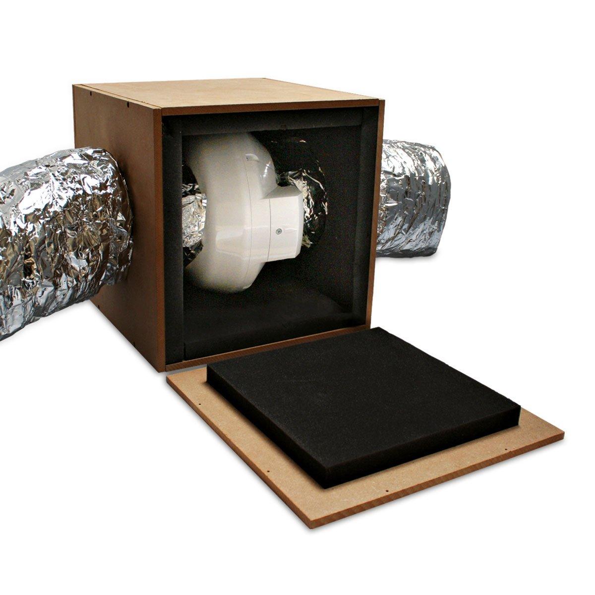 Caja de madera insonorizada Anti-Ruido para Extractor RVK/Ruck (200mm): Amazon.es: Hogar