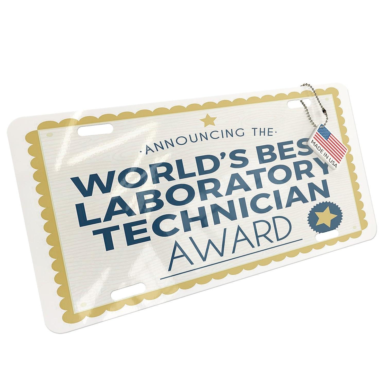 Amazon Neonblond Metal License Plate Worlds Best Laboratory