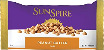 SunSpire Peanut Butter Baking Chips, 10 Ounce, 12 Count