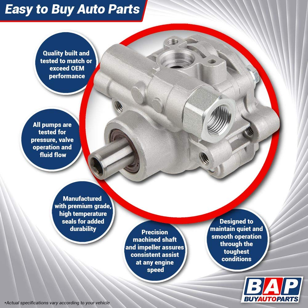 New Power Steering Pump For Lexus GS300 IS300 SC300 /& Toyota Supra 2JZ BuyAutoParts 86-00470AN New