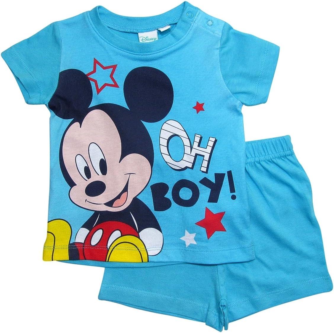 B/éb/é Mickey Mouse gar/çon Ensemble de pyjama 0 /à 24 mois Rouge Rot 80 cm-86 cm; Prime