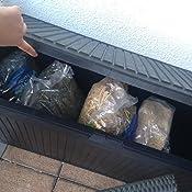 Koll Living Auflagenbox/Kissenbox 270 Liter: Amazon.de: Garten