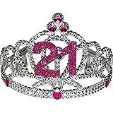 21 Tiara Pink Crown