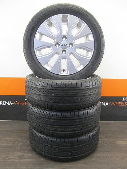 Original Kia Rio III UB 16 pulgadas Llantas Verano ruedas Verano Neumáticos 7 mm Top: Amazon.es: Coche y moto