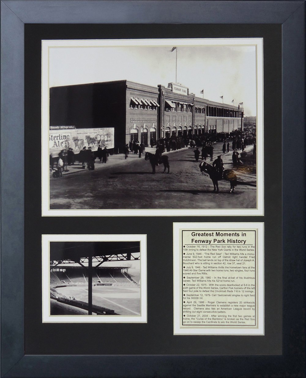 Legends Never Die ''1912 Fenway Park'' Framed Photo Collage, 11 x 14-Inch