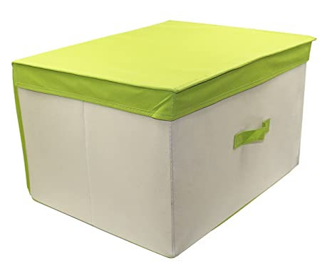 Amazon.com: ESYLIFE Foldable Storage Containers For Clothes Storage Boxes  With Lids ,Set 2: Home U0026 Kitchen