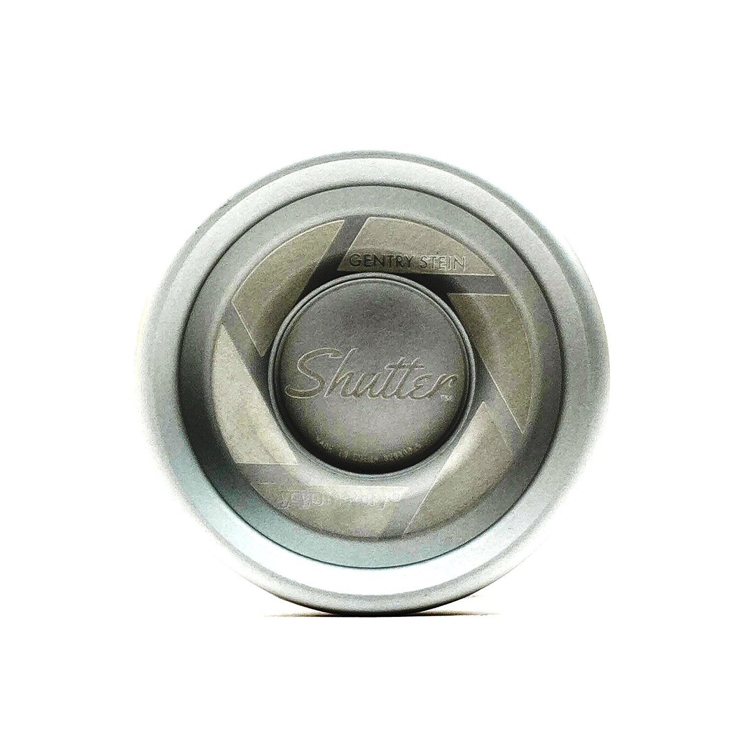 Shutter Professional Yoyo by YoYoFactory Color Brushed Silver
