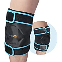 SuzziPad Knee Ice Pack for Injuries Reusable Gel Cold Pack Deals