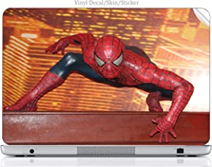 Laptop VINYL DECAL Sticker Skin Print Comic Book Hero fits Chromebook 2 13.3in.