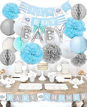 """Baby Shower Decoraciones para el niño""""Es un niño"""" Baby Shower con""""OH. Pasa ..."""