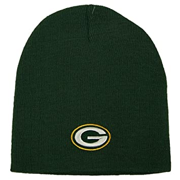 Green Bay Packers Official NFL One Size Knit Beanie Hat 17856332972
