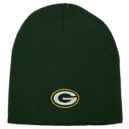 Amazon.com   Reebok NFL Green Bay Packers Official Winter Knit Beanie  Skully Hat Cap   Cold Weather Hats   Sports   Outdoors 8c374c1dc