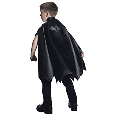 Rubie's Costume DC Superheroes Batman Deluxe Child Cape Costume: Toys & Games