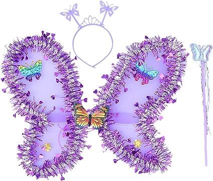 Fairy Butterfly Wings Girls Angel Wings Birthday Party Favor Wings Costume