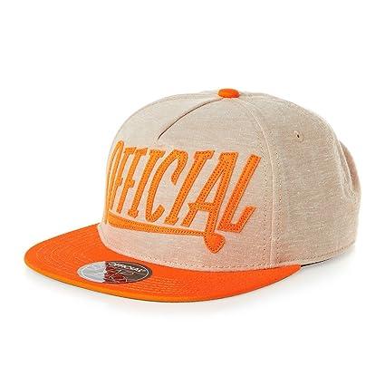 6c7710e17f1 Amazon.com   Official Crown of Laurel Official Applique Cap - Khaki Orange    Sports   Outdoors